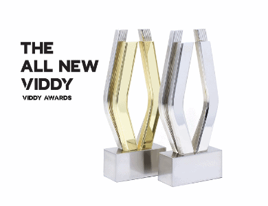 Viddy Awards Trophies